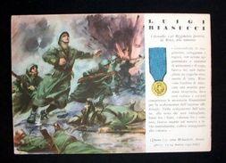WWII Cartolina - Medaglie D' Oro Guerra 1941 Biasucci - Militari