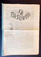 Storia Risorgimento - Satira - Pasquino - N° 28 - Luglio 1864 - Libri, Riviste, Fumetti