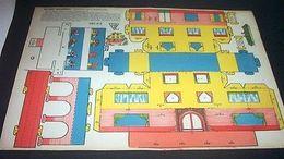 Tipo Marca Stella Gioco Costruzione N° 2 Villino Moderno - 1930 Ca.  Ed. Villa - Giocattoli Antichi