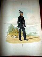 Stampa Militaria Uniformologia - Uniformi Austria ( Periodo Napoleonico ) - Prints & Engravings