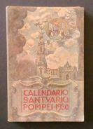 Religione - Santuario Di Pompei - Calendario 1930 - Libri, Riviste, Fumetti