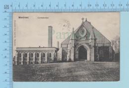 Montreal Quebec Canada -  RARE - Le Crématorium Du Mont Royal  A Servi En 1907  - Postcard Carte Postale - Montreal