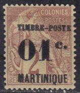 Martinique N° 26 * - Martinica (1886-1947)