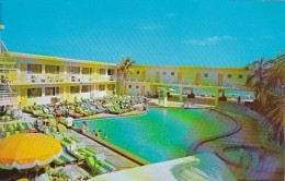 Florida Miami Beach Sunny Isles Aztec Motel Swimming Pool