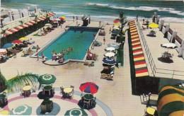Florida Miami Beach Seacomber-Surfcomber Cabana Club & Swimming