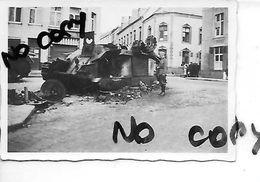 BEAUMONT TANK CHAR   SOLDATS ALLEMANDS     1940 - Beaumont