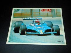 Pubblicità Lubrificanti ELF - Formula 1 - LOTUS 79 - Advertising