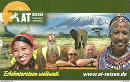 ELEPHANT * ANIMAL * TRAVEL BUREAU * LEIPZIG * CALENDAR * AT Reisen 2012 * Germany - Calendarios