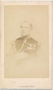 Photo D'un Général Français Peu Avant Guerre De 1870 - Photographe Pierson (de L'empereur) Bd Des Capucines à Paris - Photos