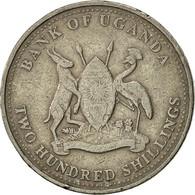 Uganda, 200 Shillings, 1998, Royal Canadian Mint, TTB, Copper-nickel, KM:68 - Ouganda