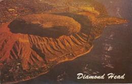 Hawaii Oahu Aerial View Diamond Head and Black Point 1973