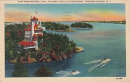 New York Thousand Islands View From Hopewell Hall Pullman Castle