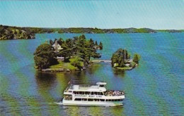New York/Canada 1000 Islands Rockport Boat Line Sightseeing Boat
