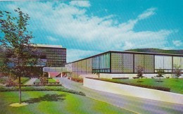 New York Corning Rear View Of Corning Glass Center