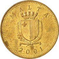 Malte, Cent, 2001, TTB, Nickel-brass, KM:93 - Malta