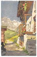 Illustration : La Grande Muraille Vue De Valtournanche -  Ed. STZF No. 418 - Illustrateur S. Bonelli - Valtournenche - Other Cities