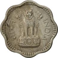 INDIA-REPUBLIC, 10 Naye Paise, 1957, TTB, Copper-nickel, KM:24.1 - Inde