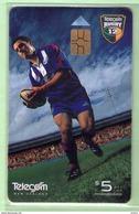 New Zealand - Chipcards - 2000 Super 12 Rugby - $5 Doug Howlett - VFU - Card 041 - New Zealand