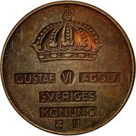 Suède, Gustaf VI, 2 Öre, 1970, TTB, Bronze, KM:821 - Suède