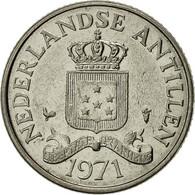 Netherlands Antilles, Beatrix, 25 Cents, 1971, SUP, Nickel, KM:11 - Antilles Neérlandaises