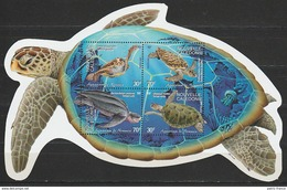NOUVELLE-CALEDONIE 2002 BF27 Aquarium De Nouméa Tortues - New Caledonia