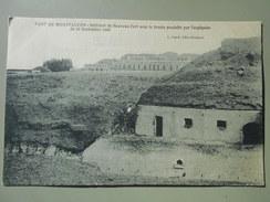 DOUBS FORT DE MONTFAUCON INTERIEUR DU NOUVEAU FORT AVEC LA TROUEE PRODUITE PAR L'EXPLOSION DU 16/09/1906 - Other Municipalities