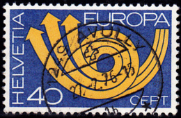 N0 543 Proprement Oblitéré : AVULLY - Suisse