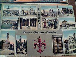 6 CARD FIRENZE MULTI VEDUTE N1960 GL19465 - Firenze