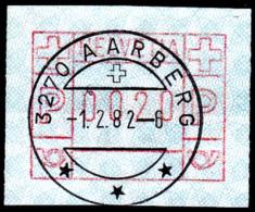 Timbres D'automate : No ATM 5 Avec Oblitération Pleine De AARBERG - Automatic Stamps