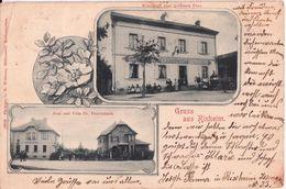RIXHEIM-GRUSS CARTE A 2 VUES - France