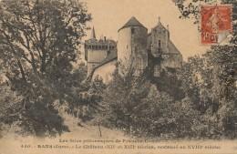 G149 - 39 - RANS - Jura - Le Château XIIe Et XIIIe Siècle Restauré Au XVIIIe Siècle - France
