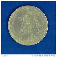 Fedele Riproduzione: Ferenc József - 5 Korona - 1907 - Ungheria - Hongrie - Non Pulita Ossido Naturale - Ungheria