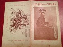 Le Puy En Velay Publicité Librairie Badiou Amant 16 Pages - Dépliants Touristiques