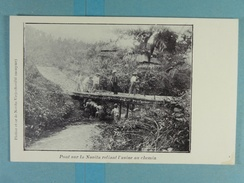 Platine Et Or De Novita-Viejo Pont Sur La Novita Reliant L'usine Au Chemin - Colombie