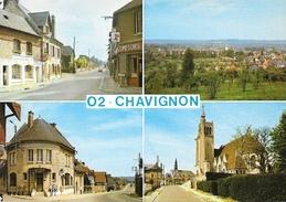 Chavignon (Aisne) - Multivues - Edition Mage - Carte Non Circulée - Andere Gemeenten