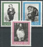 NORWEGEN 1972 Mi-Nr. 652/54 ** MNH - Norwegen
