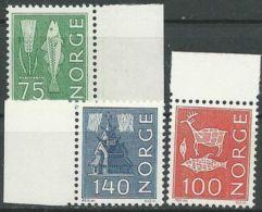 NORWEGEN 1973 Mi-Nr. 655/57 ** MNH - Norwegen