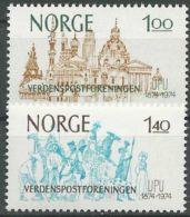 NORWEGEN 1974 Mi-Nr. 691/92 ** MNH - Norwegen
