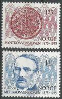 NORWEGEN 1975 Mi-Nr. 703/04 ** MNH - Norwegen