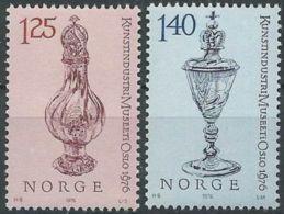 NORWEGEN 1976 Mi-Nr. 722/23 ** MNH - Norwegen