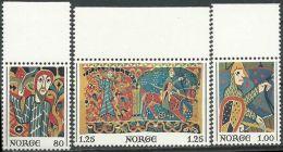 NORWEGEN 1976 Mi-Nr. 734/36 ** MNH - Norwegen