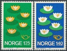 NORWEGEN 1977 Mi-Nr. 737/38 ** MNH - Norwegen
