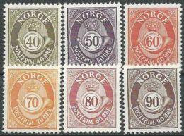 NORWEGEN 1978 Mi-Nr. 758/63 ** MNH - Norwegen