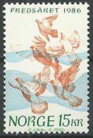 NORWEGEN 1986 Mi-Nr. 960 ** MNH - Norwegen