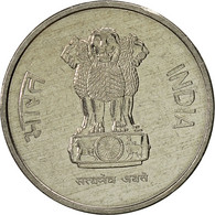 INDIA-REPUBLIC, 10 Paise, 1988, TTB, Stainless Steel, KM:40.1 - Inde