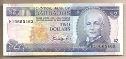 Barbados - Banconota Circolata Da 2 Dollari - 1986 - Barbados