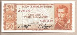 Bolivia - Banconota Non Circolata FdS Da 50 Pesos - 1962 - Bolivia