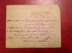 Dépôt Prisonnier De Guerre 154 Sorgues WWII - Cachets Généralité