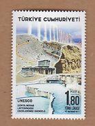 AC - TURKEY STAMP - DENIZLI OUR SITES IN UNECO'S WORLD HERITAGE LIST MNH 08 DECEMBER 2017 - 1921-... République