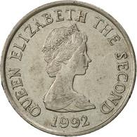 Jersey, Elizabeth II, 10 Pence, 1992, TTB, Copper-nickel, KM:57.2 - Jersey